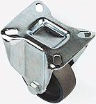 LAG 脚轮, 车轮直径 130mm, 450kg负载固定166mm是40mm, 铁轮胎重型135 x 110mm11mm4, 钢轮毂105 x 80mm平孔