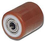 LAG 82mm直径 聚酰胺 脚轮 9946 CC, 25mm孔径, 500kg负载能力