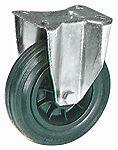 LAG 脚轮, 车轮直径 200mm, 205kg负载固定240mm否50mm, 橡胶轮胎重型135 x 110mm10mm4, 热塑性塑料轮毂105 x 80mm平孔