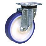 LAG 旋转脚轮, 车轮直径 200mm, 450kg负载旋转249mm是20mm, PUR轮胎重型135 x 110mm4, 聚酰胺 6轮毂105 x 80mm球轴承