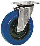 LAG 脚轮, 车轮直径 250mm, 450kg负载旋转是50mm, 橡胶轮胎重型, 聚酰胺轮毂滚动轴承
