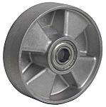LAG 灰色 110mm直径 铝 脚轮 39018CC, 200kg负载能力