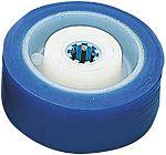 LAG 蓝色 125mm直径 PUR轮胎 脚轮, 300kg负载, 15mm孔径