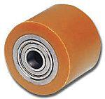 LAG 棕色/棕褐色 85mm直径 PUR,钢 脚轮 1740 CC, 25mm孔径, 900kg负载能力