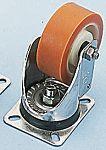 LAG 旋转脚轮, 车轮直径 150mm, 370kg负载旋转192mm是40mm, PUR轮胎重型135 x 110mm10mm4, 聚酰胺轮毂105 x 80mm滚动轴承