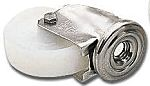 LAG 丝杆型万向轮 125mm直径, 聚酰胺轮胎, 应用于工业, 耐磨,耐腐蚀,低滚动阻力,耐冲击, 150kg负载, 154mm总高