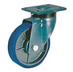 LAG 旋转脚轮, 车轮直径 100mm, 700kg负载旋转160mm否40mm, 聚氨酯轮胎重型110 x 135mm10mm4, 铸铁轮毂80 x 105mm球轴承