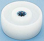 LAG 白色 200mm直径 聚酰胺 脚轮 4017/X, 20mm孔径, 600kg负载能力