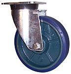 LAG 旋转脚轮, 车轮直径 125mm, 400kg负载旋转164mm否40mm, 聚氨酯轮胎重型110 x 135mm10mm4, 铸铁轮毂80 x 105mm球轴承